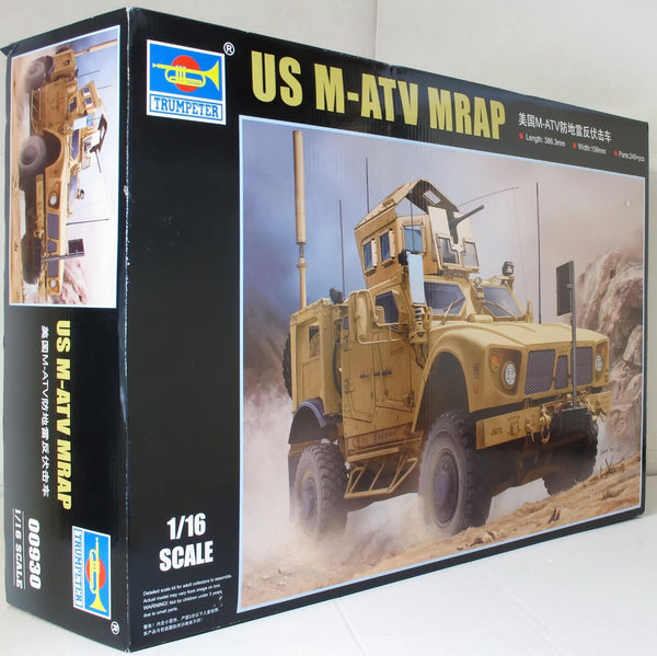 Trumpeter 1:16 00930 US M-ATV MRAP (Oshkosh) Military Model Kit