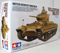 Tamiya 1:35 35352 British Tank Mk.III - Valentine Mk.II/IV Military Model Kit