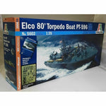 Italeri 1:35 5602 Elco 80 PT-596 Torpedo Boat Model Ship Kit