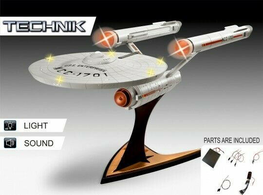 Revell 1:600 00454 Star Trek USS Enterprise NCC-1701 Space Model Kit