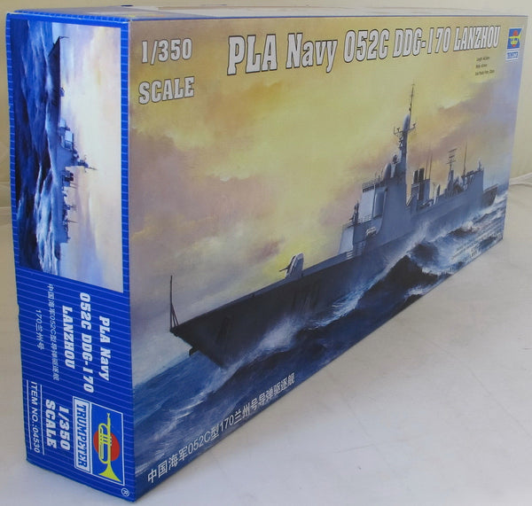 Trumpeter 1:350 04530 PLA Navy Type 052C DDG-170 LanZhou Model Ship Kit