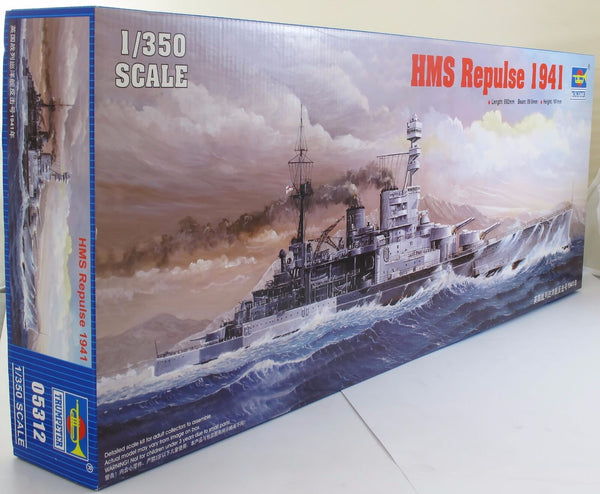 Trumpeter 1:350 05312 HMS Repulse Battlecruiser Model Ship Kit