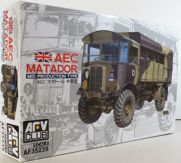 AFV Club 1:35 35239 AEC Matador Mid type Model Military Kit
