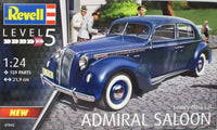 Revell 1:24 07042 Luxury Class Car Admiral Saloon Model Car Kit