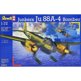 Revell 1:72 Junkers 04672 Ju 88a-4 Bomber Model Aircraft Kit