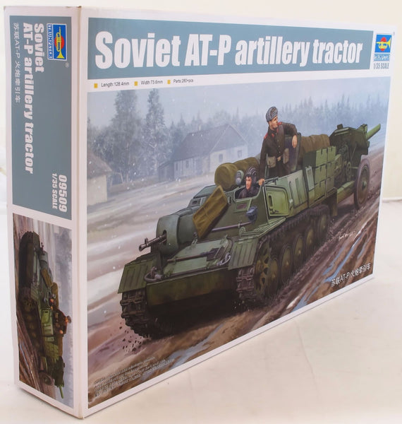 Trumpeter 1:35 09509 Soviet AT-P Artillery Tractor Military Model Kit