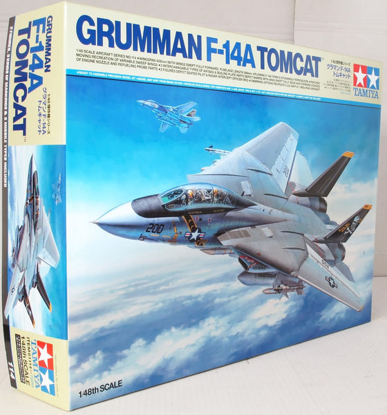 Tamiya 1:48 61114 Guruman F-14A Tomcat Model Aircraft Kit