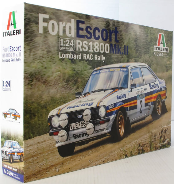 Italeri 1:24 3650 Ford Escort RS1800 MKII 1981 Lombard RAC Rally Model Car kit