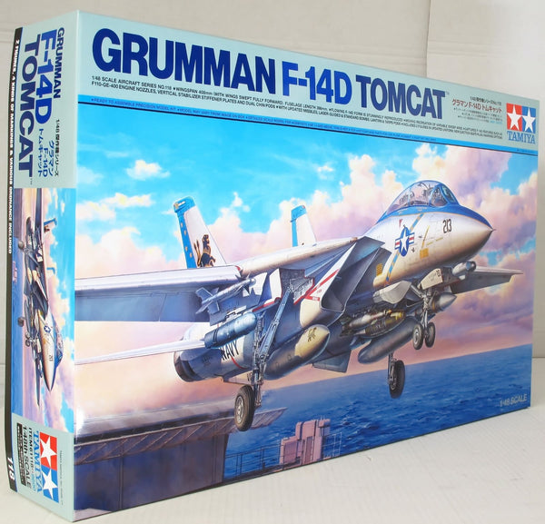 Tamiya 1:48 61118 Grumman F-14D Tomcat Model Aircraft Kit