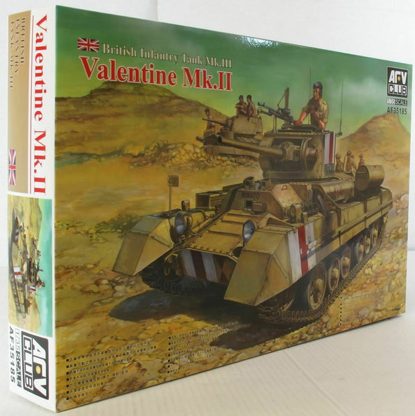 AFV Club 1:35 35185 Valentine Mk II Model Military Kit