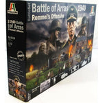 Italeri 1:72 6118 WWII 1940 BATTLE OF ARRAS ROMMEL Military kit