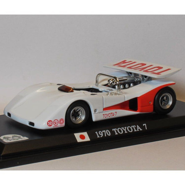 DelPrado 1/43 RC001 Toyota 7 1970 - 800 BHP Twin Turbo