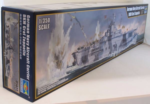 Trumpeter 1:350 05627 German Nav Aircraft Carrier DKM Graf Zeppelin Mod Ship Kit