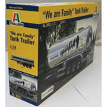 "Italeri 1:24 3911 ""THE FAMILY"" Tank Trailer Model Truck Kit"