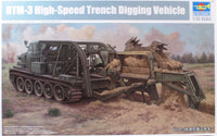 Trumpeter 1:35 09502 BTM-3 High Speed Trench Digging Vehicle Model Military Kit