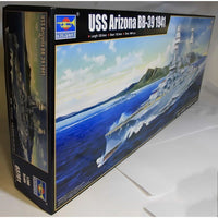 Trumpeter 1:200 03701 USS BB-39 Arizona 1941 Model Ship Kit
