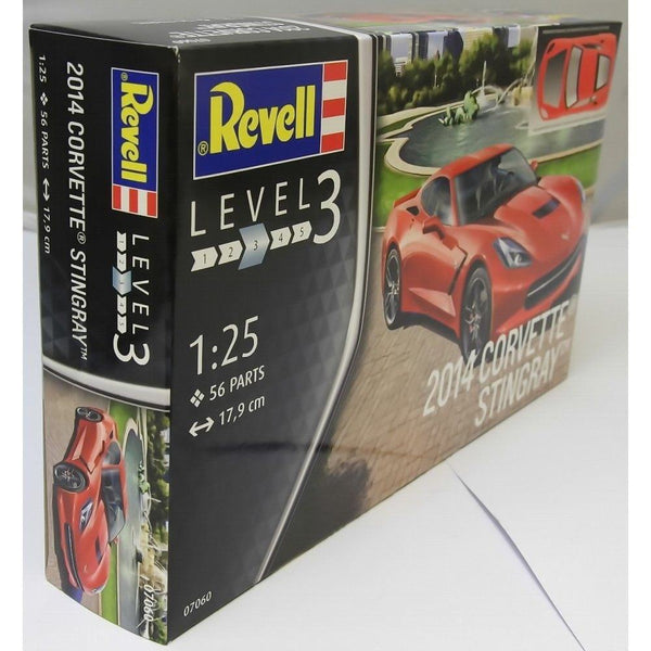 Revell 1:25 07060 2014 Corvette Stingray C7 Model Car Kit