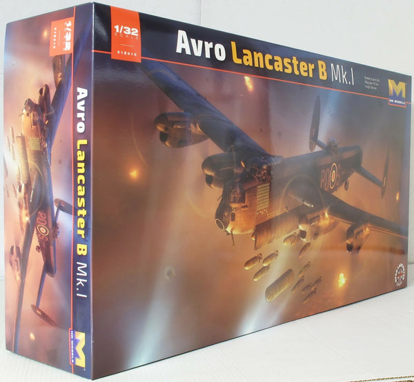 HK Models 1:32 01E10 Avro Lancaster Mk I S-Sugar R5868 Model Aircraft Kit