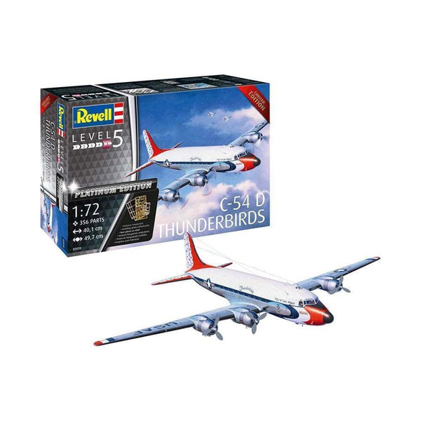 Revell 1:72 03920 C-54D Thunderbirds Platinum Edition Model Aircraft Kit