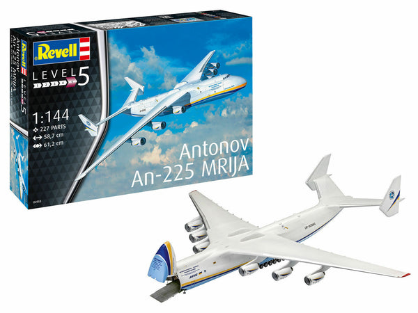 Revell 1:144 04958 Antonov An-225 Mrija Model Aircraft Kit