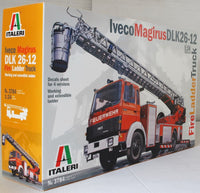 Italeri 1:24 3784 Iveco Magirus DLK26-12 Fire Ladder Model Truck Kit