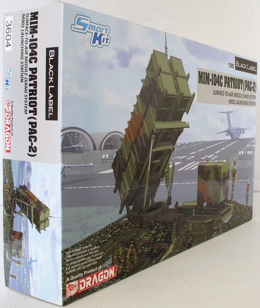 Dragon 1:35 3604 MIM-104C PATRIOT SURFACE TO AIR MISSILE Model Military Kit
