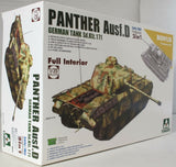 Takom 1:35 02103 SdKfz 171 Panther Ausf D Early/Mid w/full in Model Military Kit