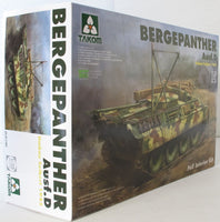 Takom 1:35 02102 Bergepanther Ausf D Umbau Seibert 1945  Model Military Kit