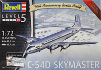 Revell 1:72 03910 C-54D Berlin Airlift 70th Anniversary Model Aircraft Kit