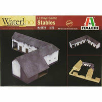 Italeri 1:72 6176 Waterloo - La Haye Sainte Stables Wooden Military Model kit