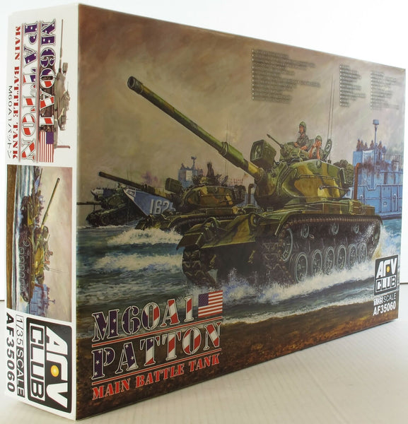 AFV Club 1:35 35060 M60A1 Patton Main Battle Tank Model Military Kit