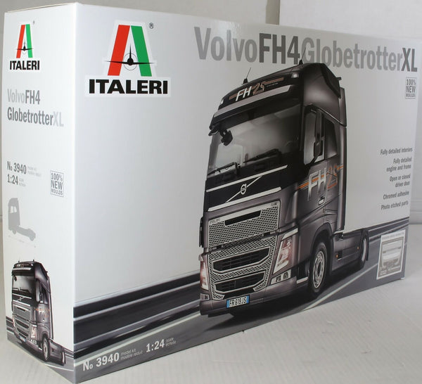Italeri 1:24 3940 Volvo FH4 Globetrotter XL Model Truck Kit