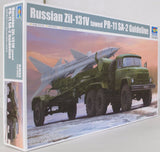 Trumpeter 1:35 01033 Russian Zil-131V towing PR-11 SA-2 Guide Model Military Kit