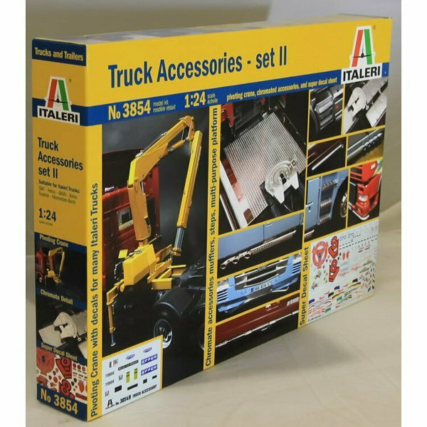 Italeri 1:24 3854 TRUCK ACCESSORIES SET 2 Model Truck Kit