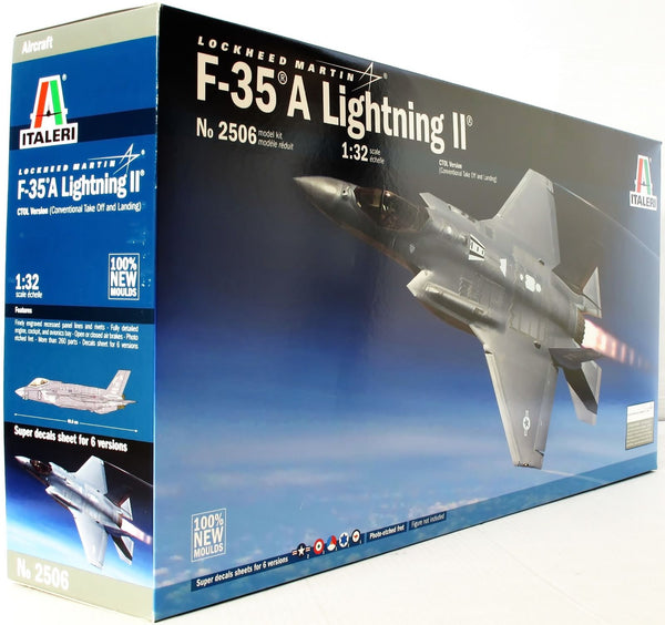 Italeri 1:32 2506 Lockheed F-35A Lightning II Model Aircraft Kit