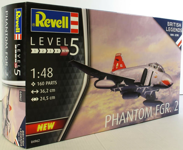 Revell 1:48 04962 Phanton FGR.2 Royal Air Force Model Aircraft Kit