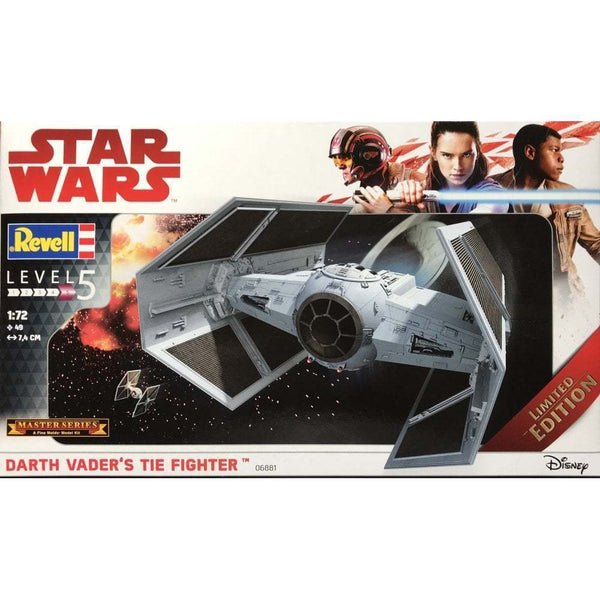 Revell 1:72 06881 Darth Vaders Tie Fighter Classic Star Wars Master Series kit