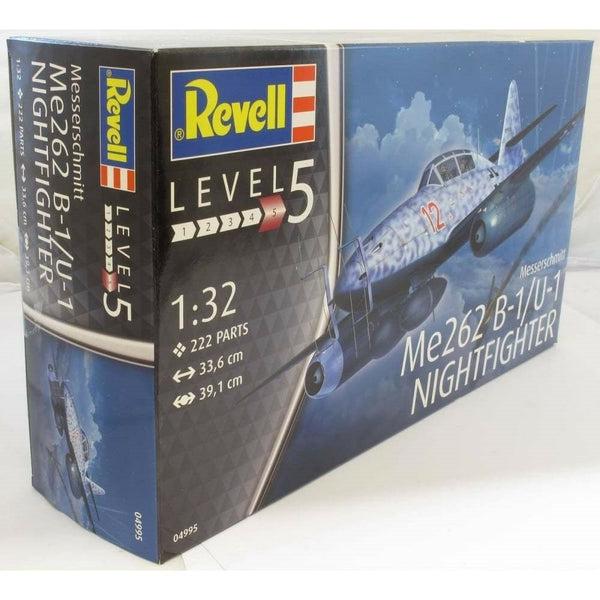 Revell 1:32 04995 Messerschmitt Me262B-1 Nightfigher Model Aircraft Kit