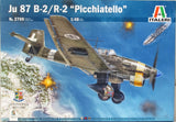 Italeri 1:48 2769 Ju 87 B-2/R-2 Picchiatello Model Aircraft Kit