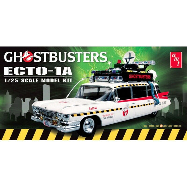 AMT 1:25 AMT750 Ghostbusters ECTO-1 Model Car Kit