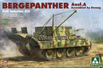 Takom 1:35 02101 Bergepanther Ausf A Demag w/interior Model Military Kit