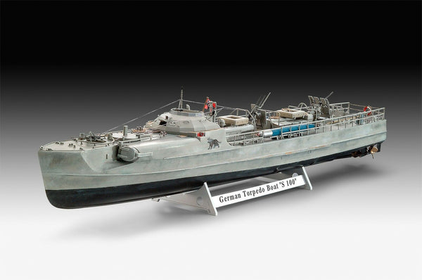 Revell 1:72 05162 S-100 Class German Fast Attack Craft Model Ship Kit