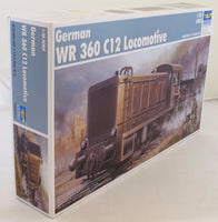 Trumpeter 1:35 00216 WR360 C12 German Diesel Locomotive Model Military Kit