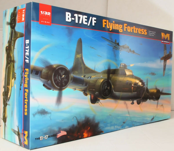HK Models 1:32 01E05 B-17E/F Flying Fortress Model Aircraft Kit