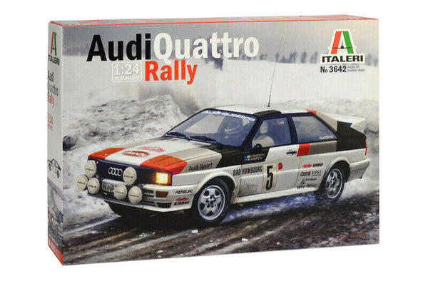 Italeri 1:24 3642 Audi Quattro Rally Model Car kit