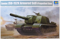 Trumpeter 1:35 05591 Soviet JSU-152K Armoured S/propelled Gun Military Model Kit