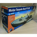 Italeri 1:35 5613 JOHN F KENNEDY'S MOTOR TORPEDO BOAT PT-109 Model Ship Kit