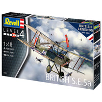Revell 1:48 03907 British Legends: British S.E.5a Model Aircraft Kit