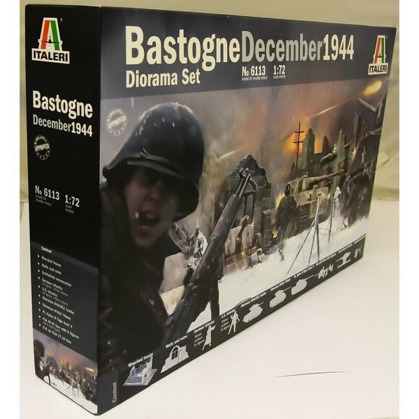 Italeri 1:72 6113 Battel of Bastogne Military Model kit