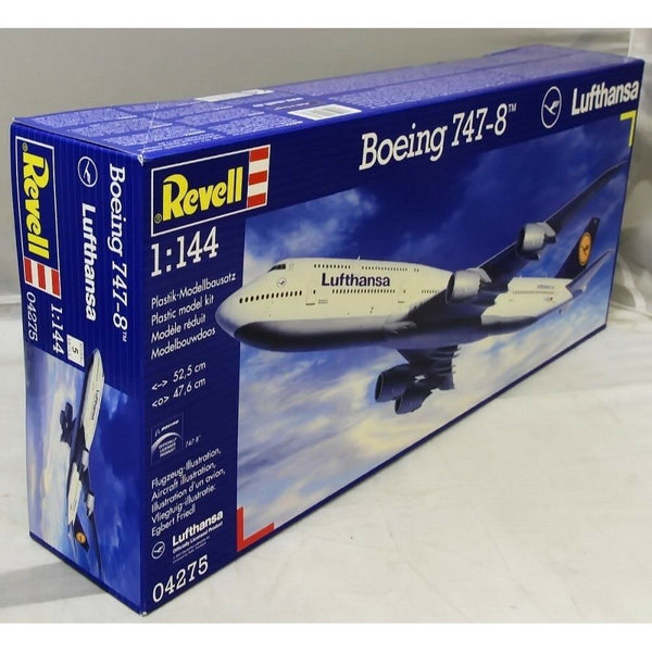 Revell 1:144 04275 Boeing 747-8 LUFTHANSA Model Aircraft Kit